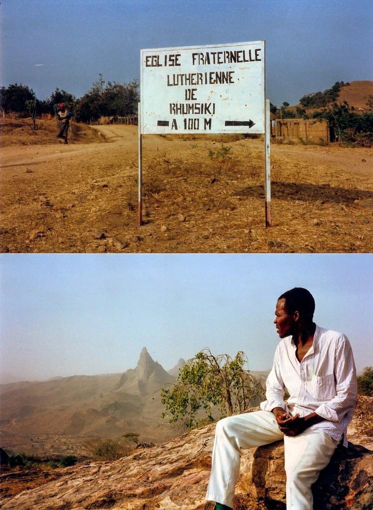 Rhumsiki, Kamerun, 1993: Rhumsiki ist ein winziger Ort an der Grenze zwischen dem kamerun und Nigeria. Die bizzaren felsen sind so etwas wie eine touristenattraktion, wobei da wahrlich wenige unterwegs waren. es gab kaum Unterkünfte. © Volker Kleinophorst, Beckerberg 16, 21279 Wenzendorf, Germany
